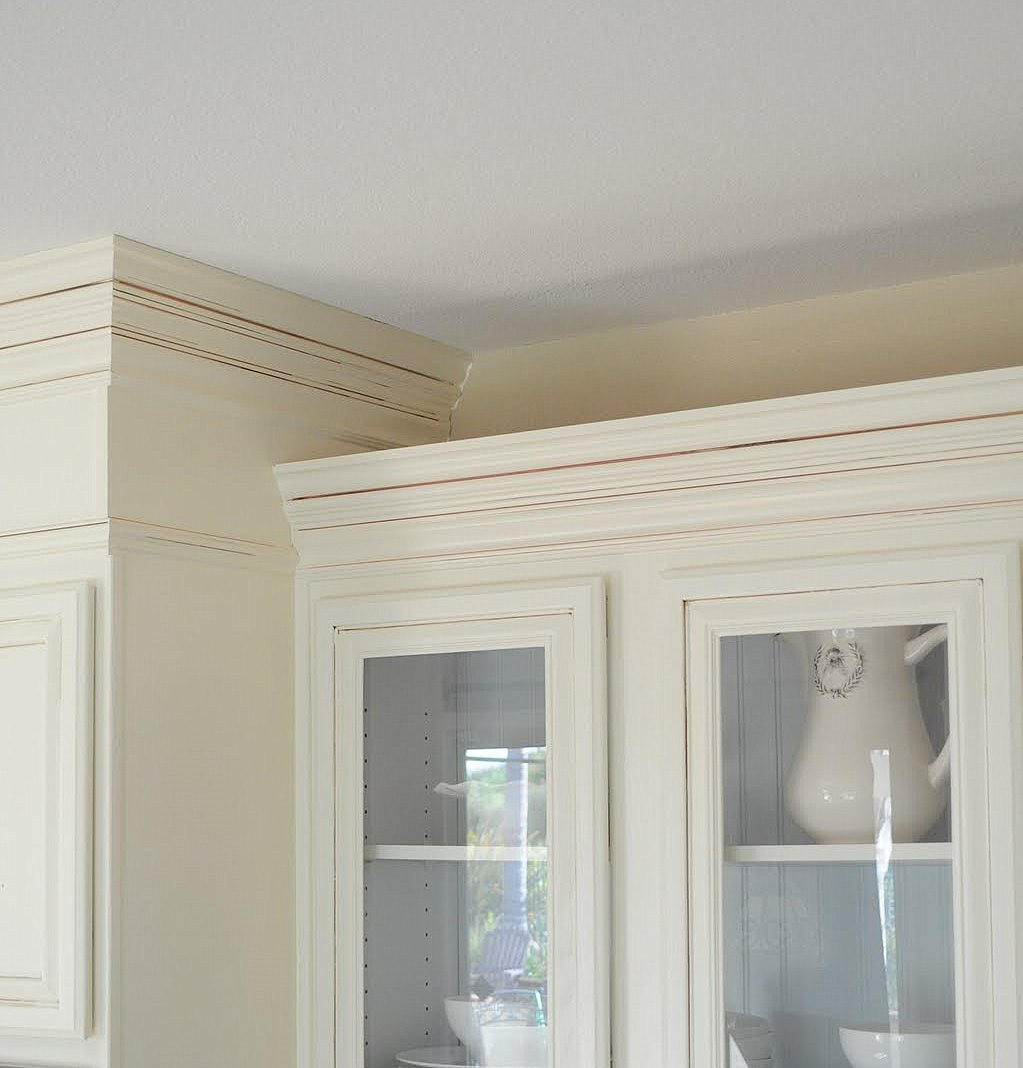 Add Molding To Kitchen Cabinets: Adding Height To Your Kitchen Cabinets