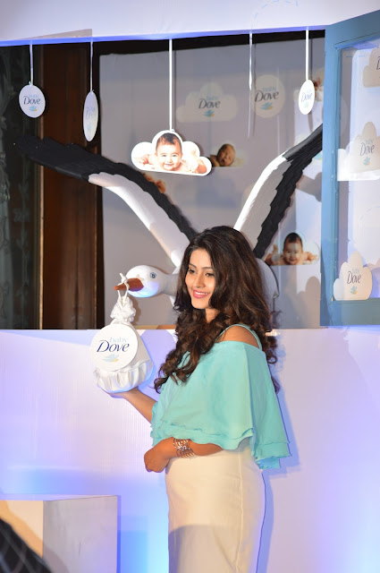 Sneha Prasanna launches Baby Dove in India