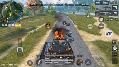 Cách thức đua moto bắn súng thổi một luồng gió mới vào Game ROS