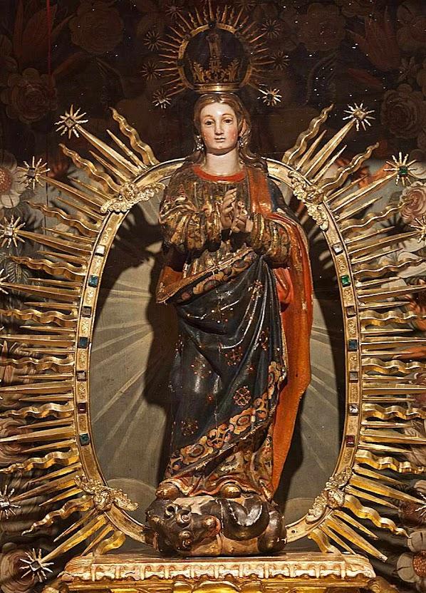 Imaculada Conceição, no mosteiro das dominicanas de Caleruega, Espanha