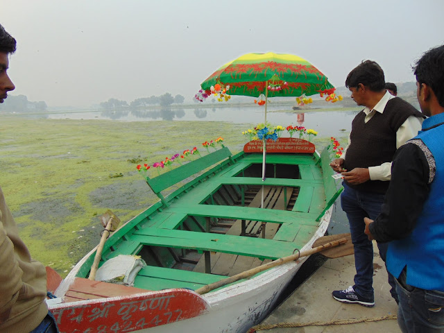 boating in gomti