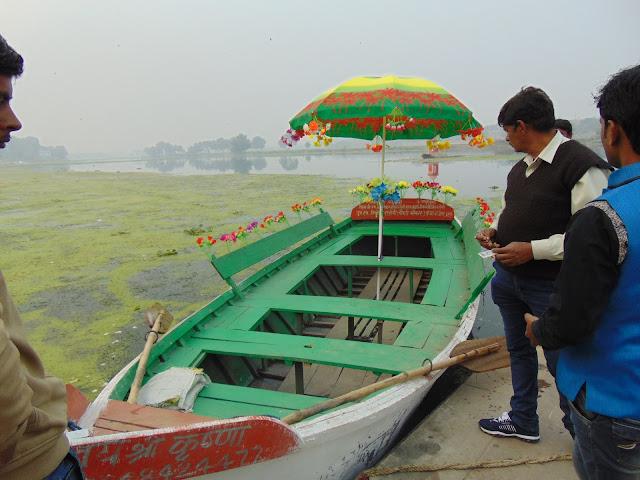 boating in gomti