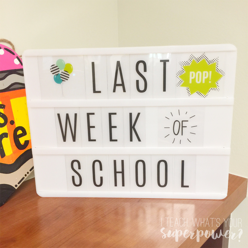 I love the Lightboxes from Heidi Swapp! Perfect for home and school.
