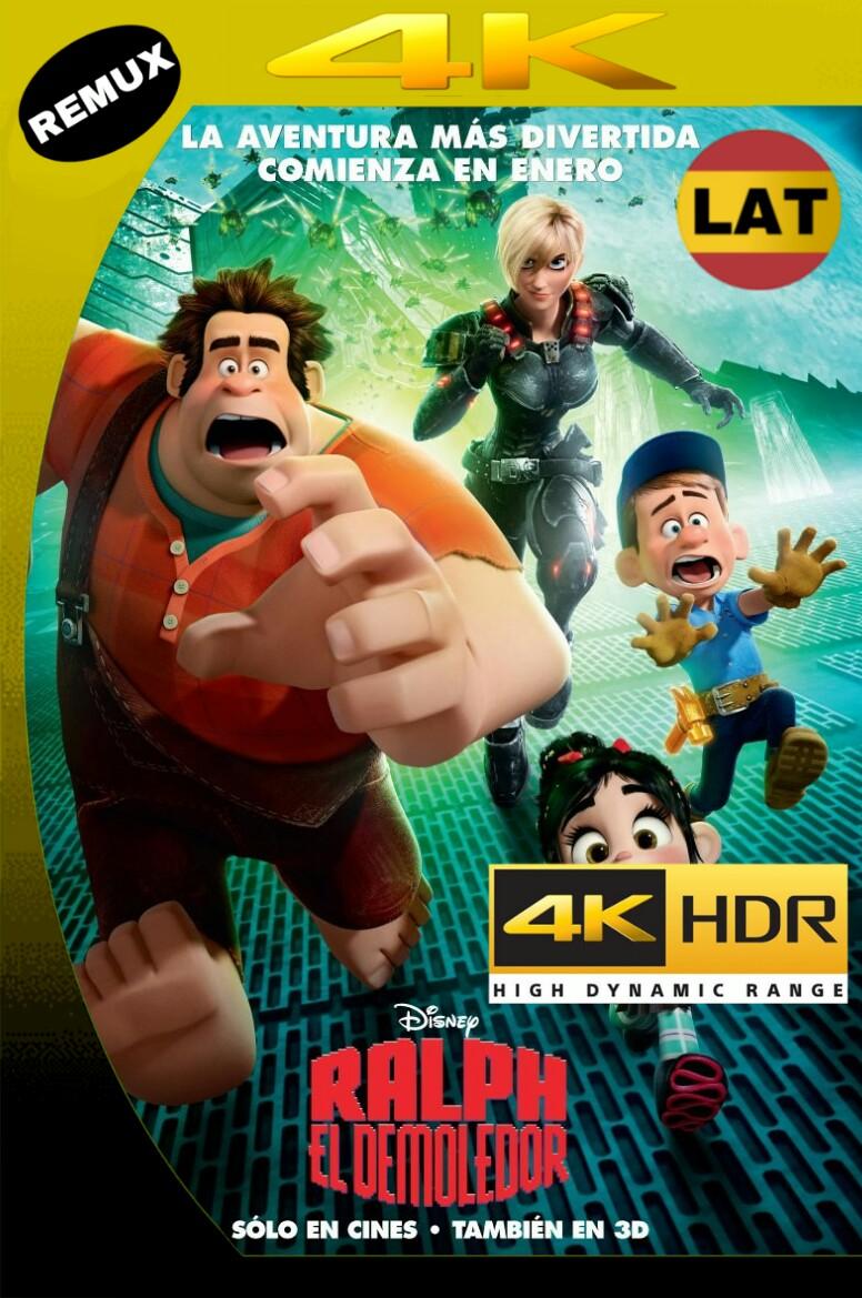 RALPH: EL DEMOLEDOR (2012) BDREMUX 2160P UHD 4K HDR LATINO+5 MKV