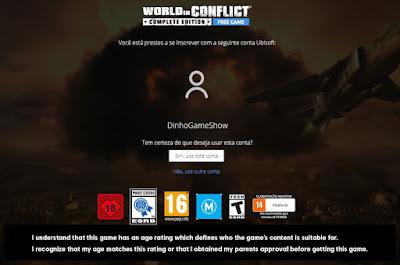 DominioGamer - World in Conflict Gratis