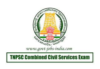 TNPSC Combined Civil Services Exam Notification