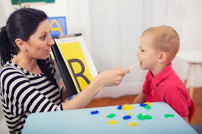 Teaching a boy