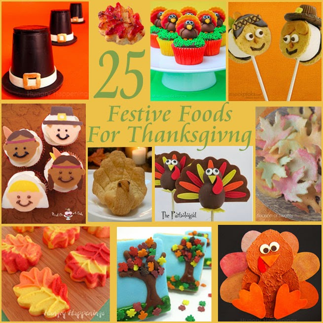 Fun Thanksgiving Food Ideas and Edible Crafts - Ideas and ...