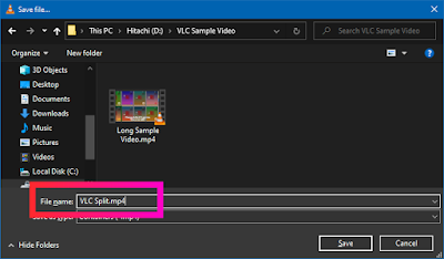 Croben.com  Split Videos In VLC Step 13
