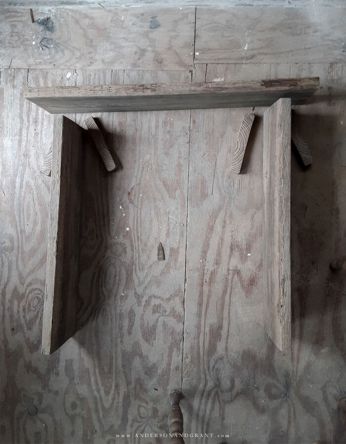 Building console table