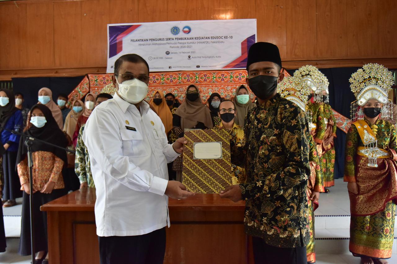 Bupati Karimun Menghadiri Pelantikan Pengurus Himap2 K Periode 2001-2022