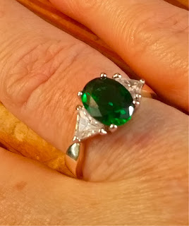 "my ""emerald"" ring from theringlady.com"