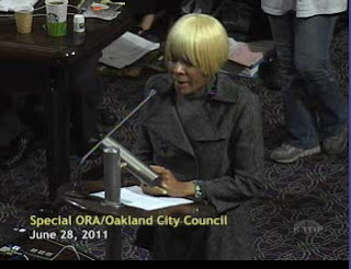 City Of Oakland's Brenda Franzel Comes To Council to Save Her Job