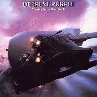 Purple guitar - Deepest Purple Best of album cover