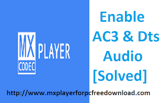 Enable AC3 & Dts Custom Codec