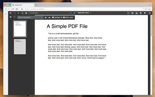 كيفية تفعيل أفضل عارض لملفات PDF الجديد في جوجل كروم