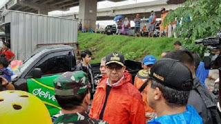 Banjir Jakarta, Anies : Kami Bertanggung Jawab, Semua Kebutuhan Ditanggulangi