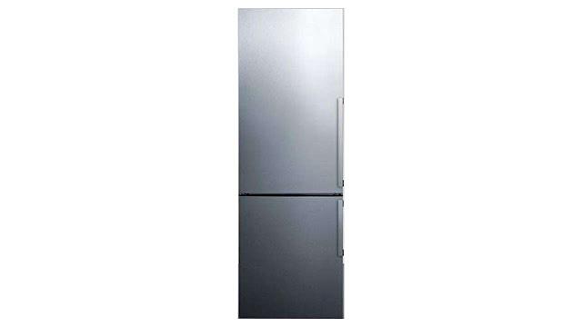 Summit FFBF247SSIMLHD Bottom Freezer Refrigerator