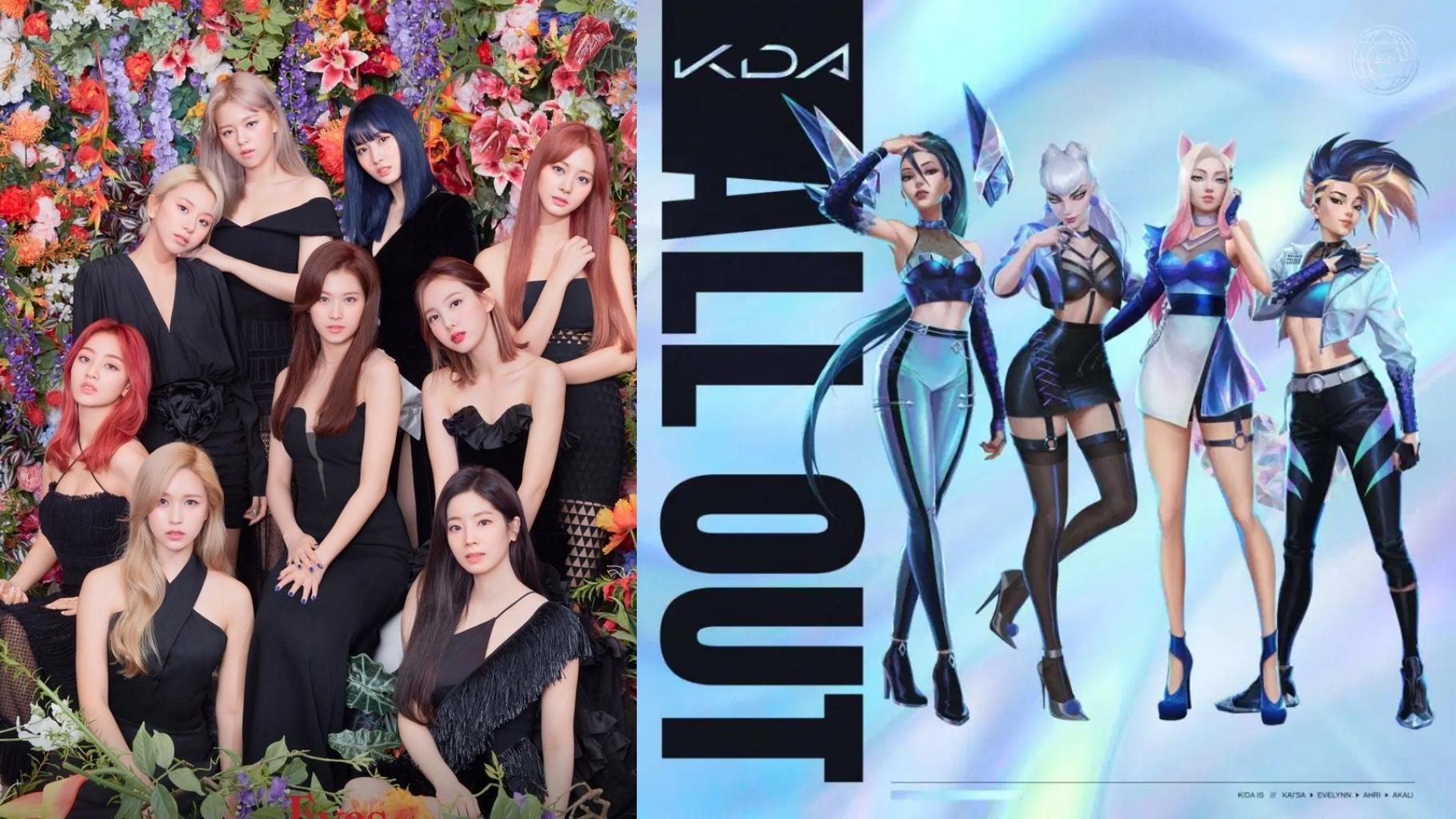 TWICE to Participate in K/DA's New Album 'ALL OUT'