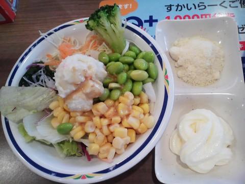 サラダ1 ステーキガスト一宮尾西店9回目