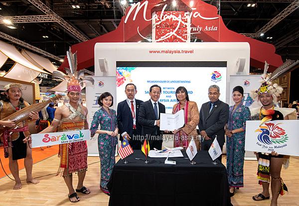 Malaysia Airlines Partners Sarawak Tourism