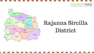 Rajanna Sircilla District New Revenue Divisions and Mandals