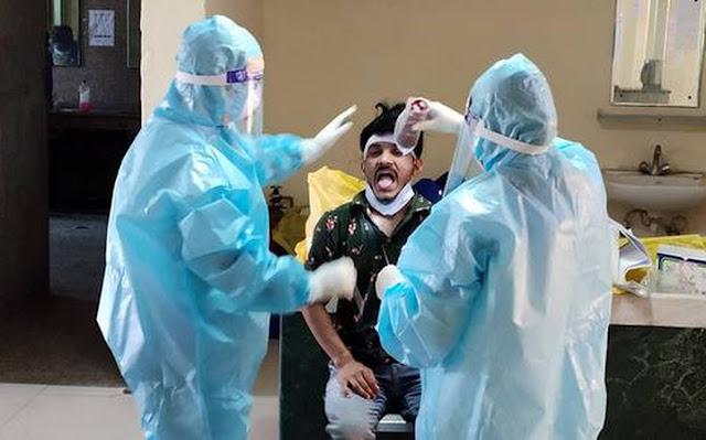 दिल्ली में कोरोना संक्रमण की दर बढ़ी, रिकवरी दर में भी गिरावट