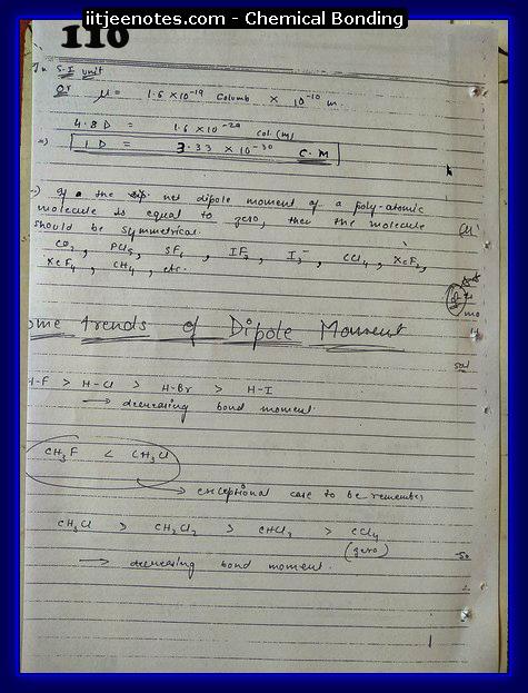 Chemical-Bonding Notes class 11-14