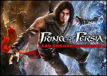 Prince of persia - Arenas olvidadas Portada