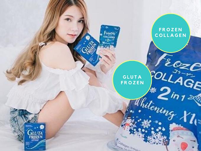 Perbedaan Gluta Frozen dan Frozen Collagen 2in1