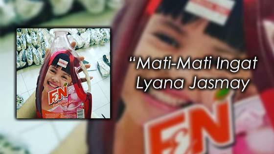 Budak Pada Botol Kordial F&N Bukan Liyana Jasmay