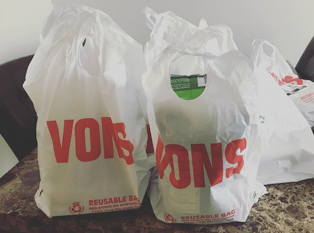 Gluten Free DIsneyland Guide - Vons Grocery Delivery Service to Hotel Anaheim California
