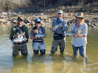 Greg Welender, Greg Yows, Upstream on the Fly, White Bass, Fly Fishing for White Bass, White Bass in Texas, Texas Freshwater Fly Fishing, Fly Fishing in Texas, Texas Fly Fishing, TFFF, White Bass Fishing