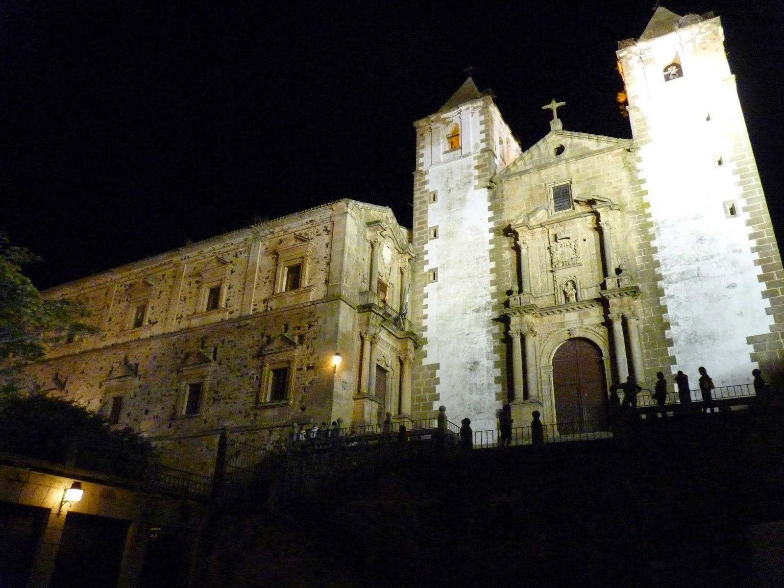 Cáceres, Plaza de San Jorge, Iglesia de San Francisco Javier.
