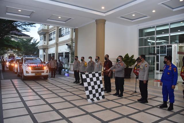 Polda Jambi Salurkan 450 Paket Baksos Untuk Masyarakat Kota Jambi