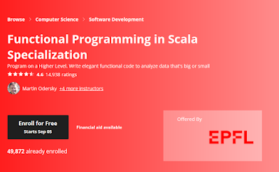 best Coursera coures to learn Scala