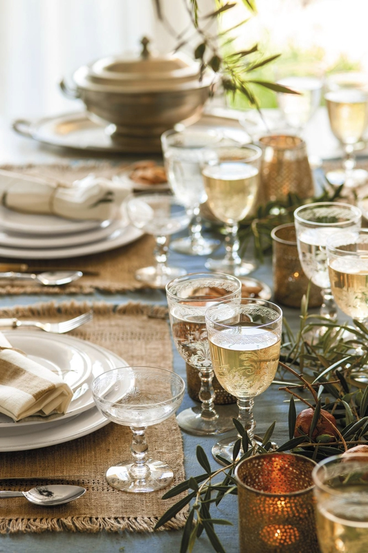 very natural christmas table chicanddeco blog