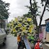 Standing Flower Dukacita Meninggalnya Bapak Wijaya