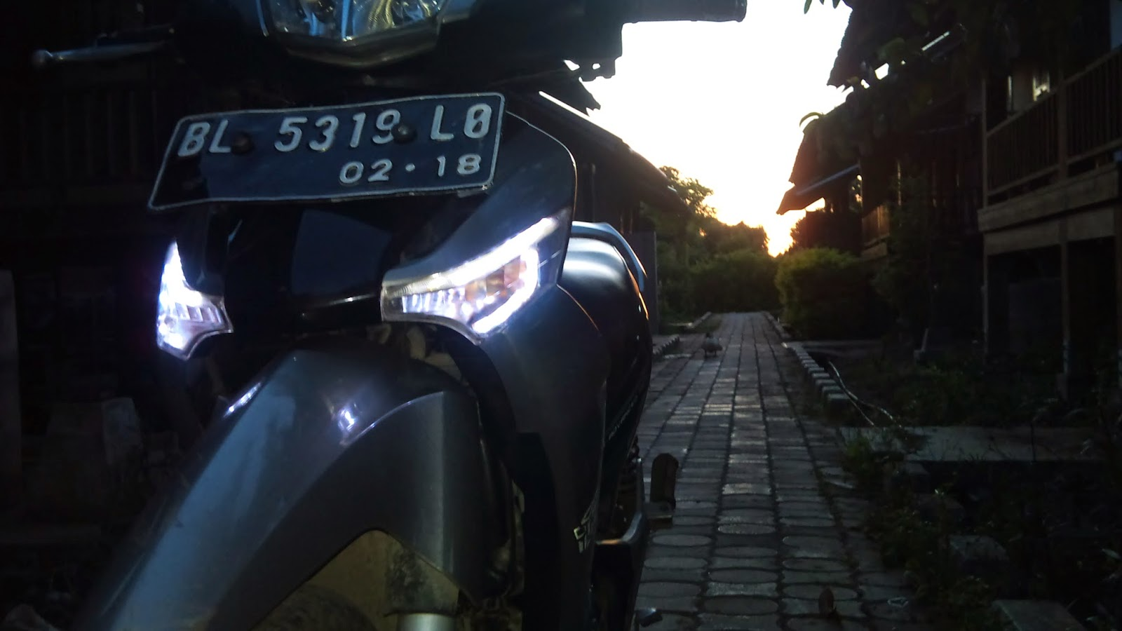 Modifikasi Lampu Led Supra X 125 Concept