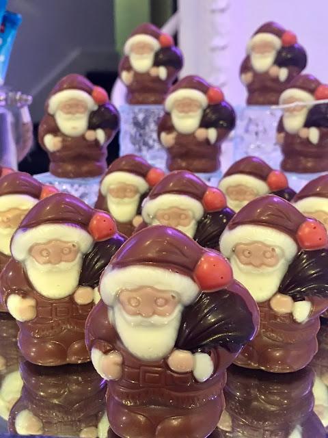 Lily chocolate santas #christmasinjuly