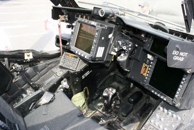 Boeing AH-64 Apache cockpit