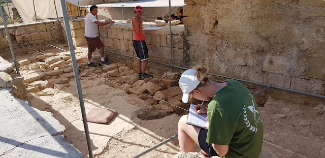 2,000-year-old temple floor discovered at Malta's Tas-Silġ excavations