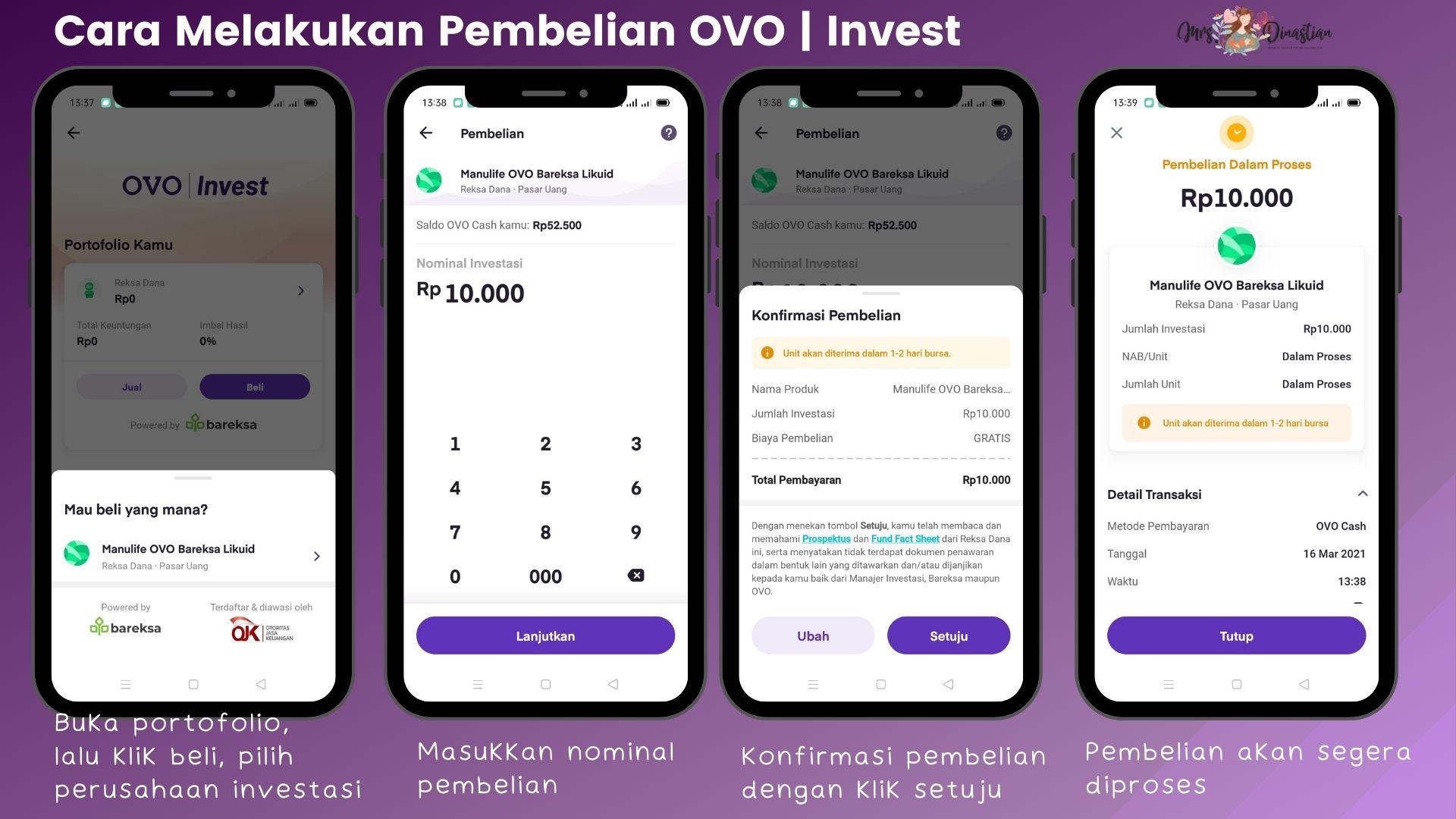 cara beli OVO | Invest