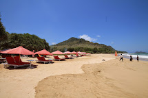 Red Island Beach ; Alias Pantai Pulau Merah Banyuwangi