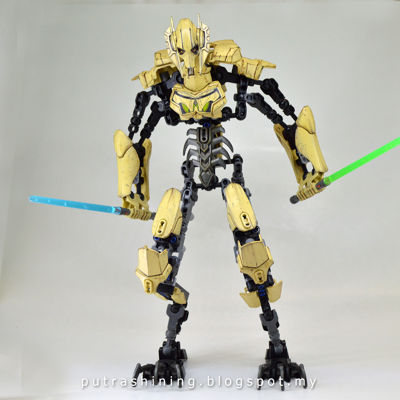 LEGO Star Wars General Grievous 75112 Custom by Putra Shining