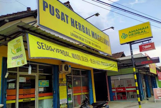 toko herbal magelang