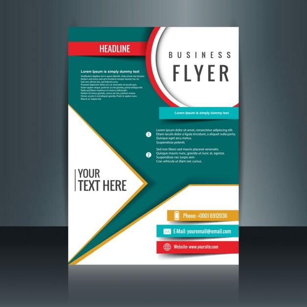 Desain Pamflet Rent Interpretomics Co
