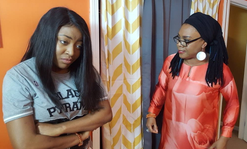 See Photos From The Ongoing Movie Shoot Below