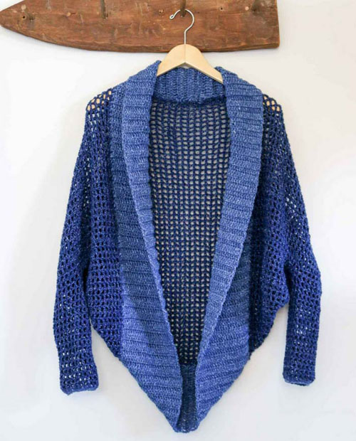 Free Easy Crochet Shrug Pattern