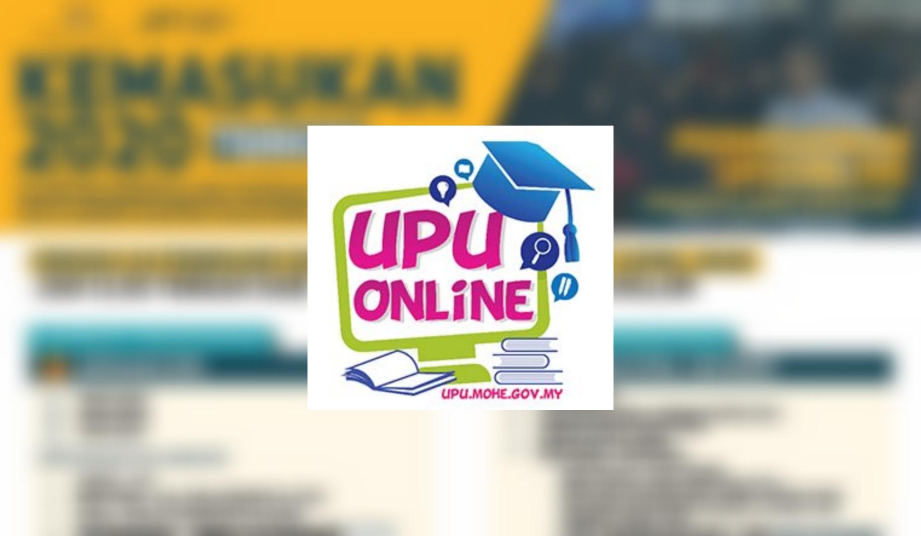 Permohonan UPU 2021/2022 Online (Borang)